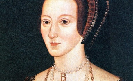 Anne Boleyn, 1533 portrait of the second wife of Henry VIII, ill-fated Queen of England beheaded in 1536. Image shot 1533. Exact date unknown.